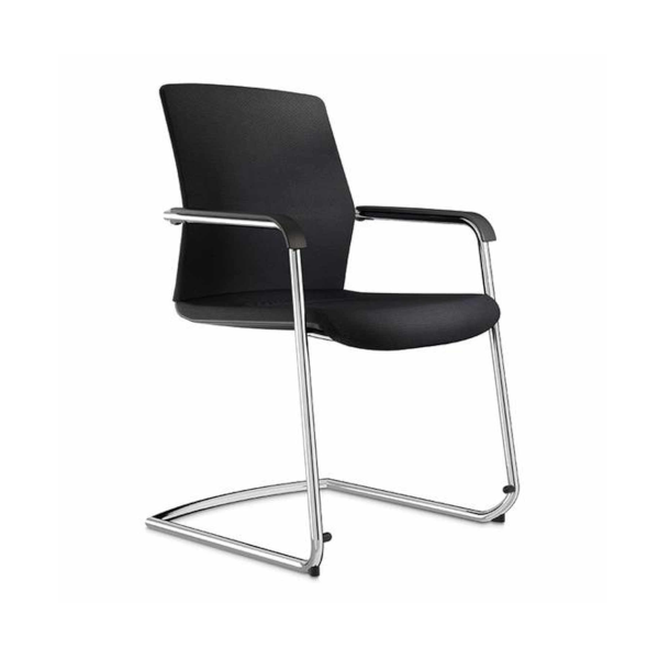 Wilkhahn-On-cantilever-chair