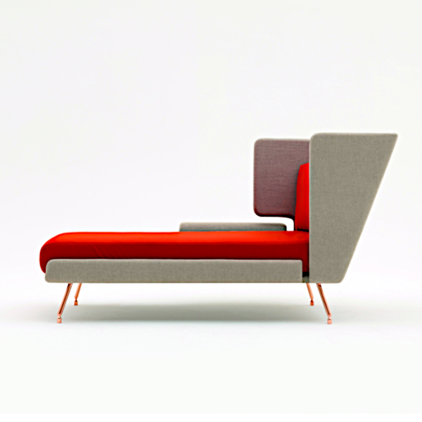 Architecture & Associés Residential Chaise Lounge Knoll