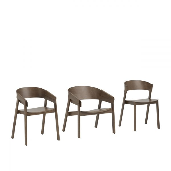 11998-cover-side-chair-stained-dark-brown-refine-leather-black-linear-steel-cafe-table-dark-green-rime-wall-lamp-organge-muuto